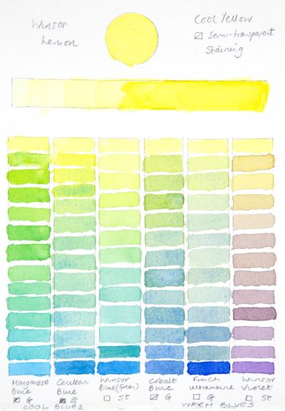 カラーチャート9