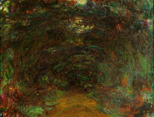 Path under the Rose Trellises, Giverny1922