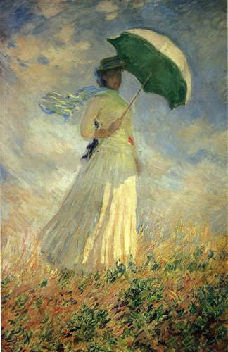 Woman with a Parasol1886