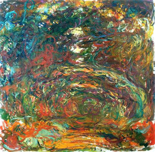 Path under the Rose Arches, Giverny1922