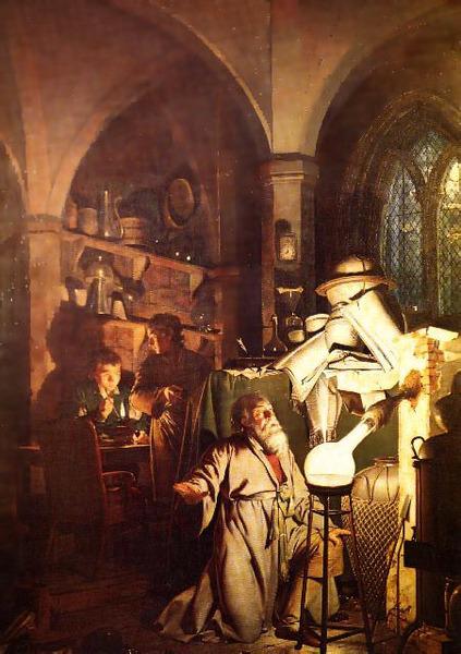 賢者の石を探す錬金術士