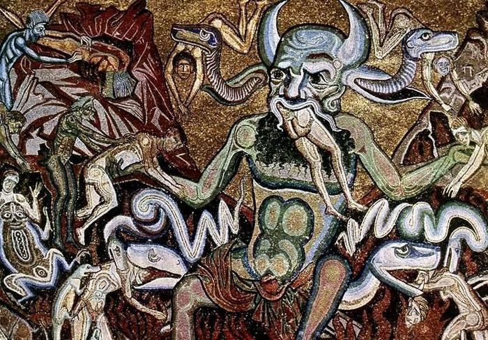 Coppo di Marcovaldo, Giudizio Universale (Inferno)