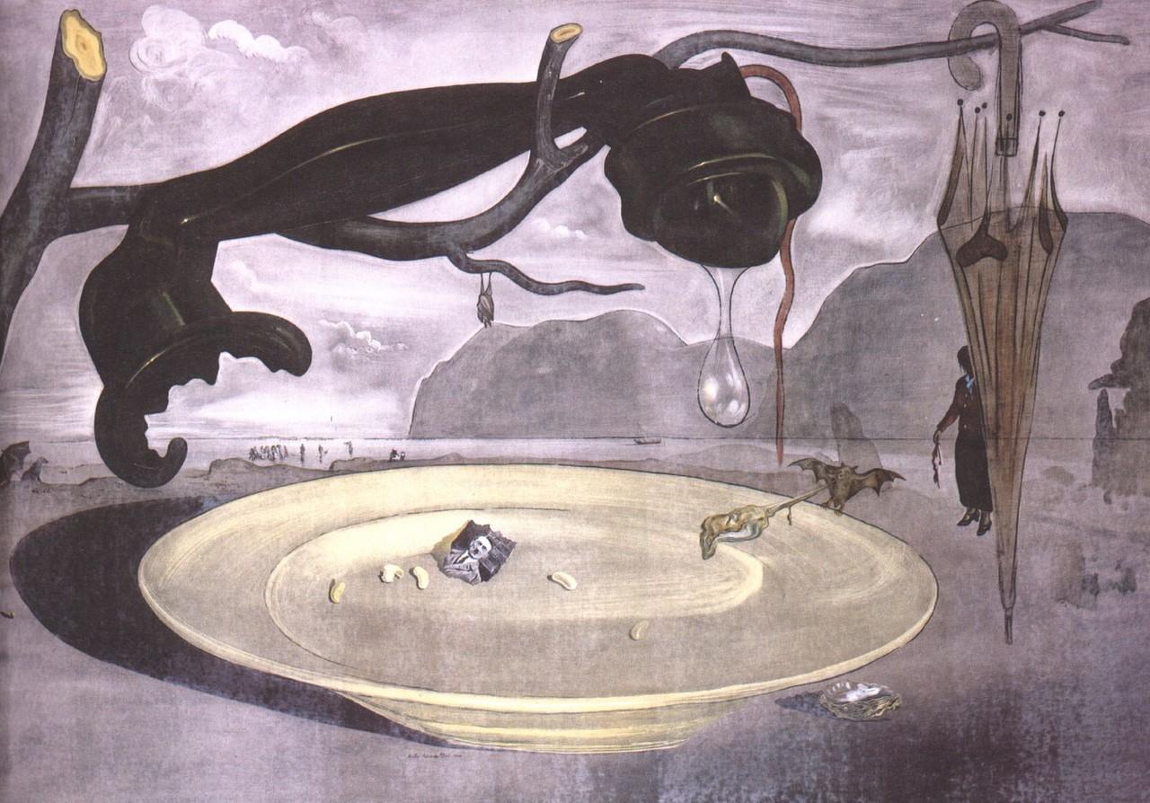 ノラの絵画の時間3分でわかるサルバドール・ダリ(3) ダリとヒトラー サルバドール・ダリの中盤の人生と作品コメント