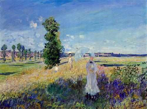 The Promenade, Argenteuil1875