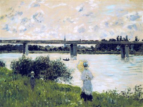 The Promenade near the Bridge of Argenteuil1874