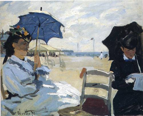 The Beach at Trouville1870