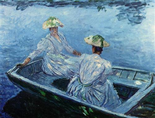 The Blue Row Boat1887