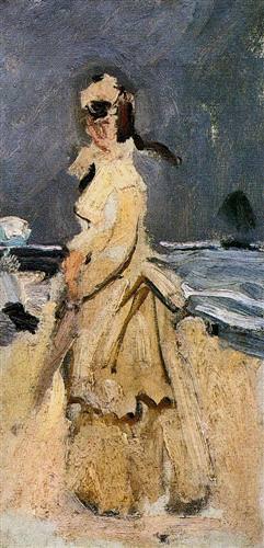 Camille on the Beach1871
