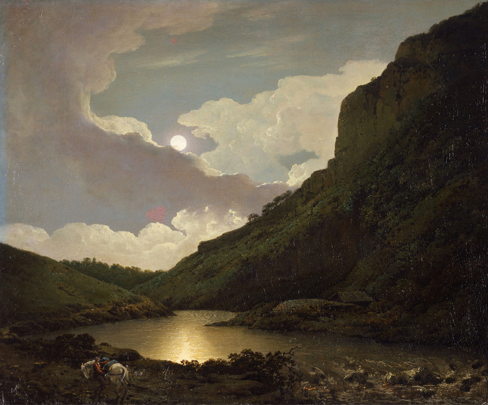 Matlock Tor by Moonlight