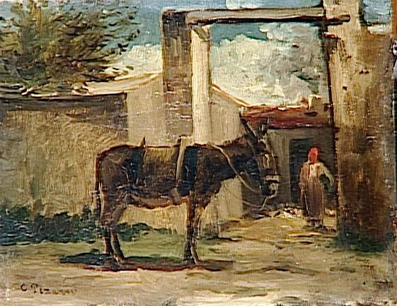 モンモランシーの風景 1862年にはシャルル・グレール(下2枚はグレールの作品)の画塾にも通うよ