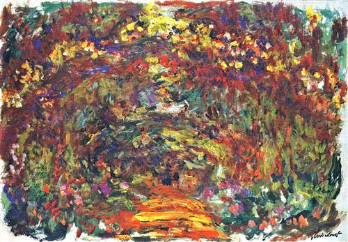 Path under the Rose Trellises, Giverny1922−2