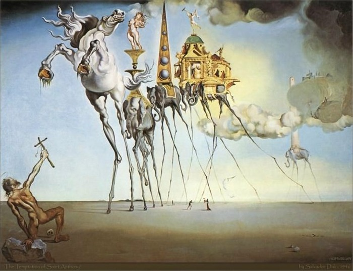 The Temptation of Saint Anthony, 1946