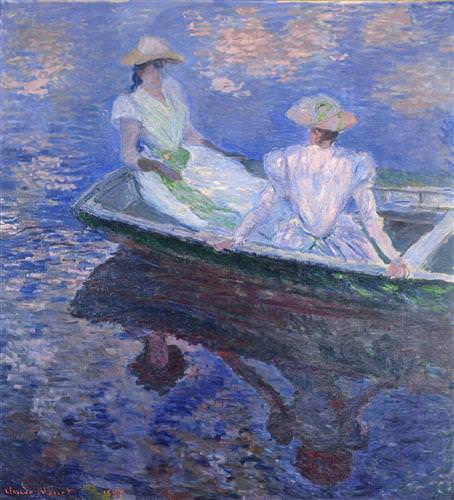 Young Girls in a Row Boat1887