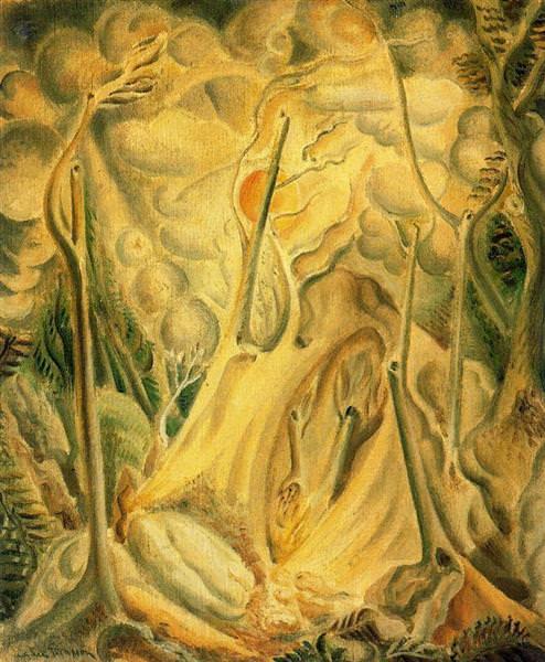 1923Landscape with Rocks