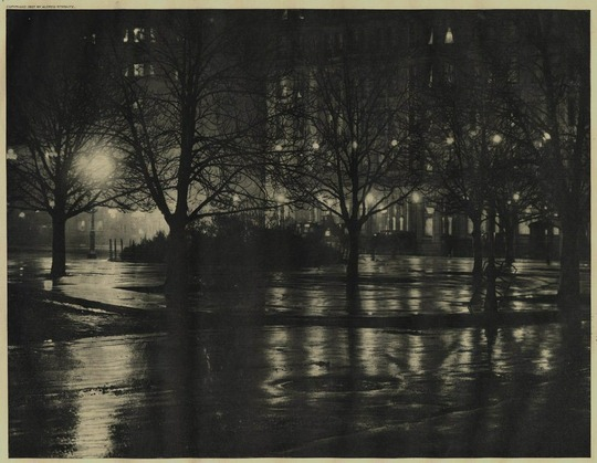 Reflections Night, New York, 1896