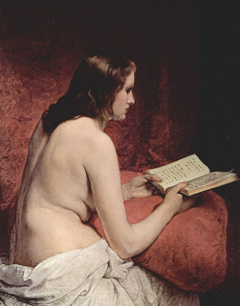 Odalisque with Book (1866)