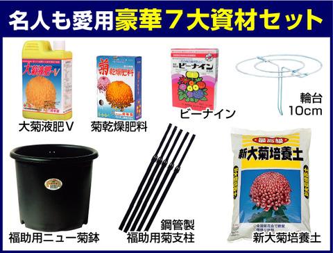 菊作り資材セット