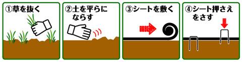 防草シート画像2