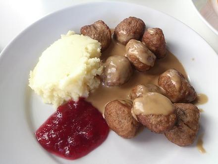 IKEAレストランミートボール