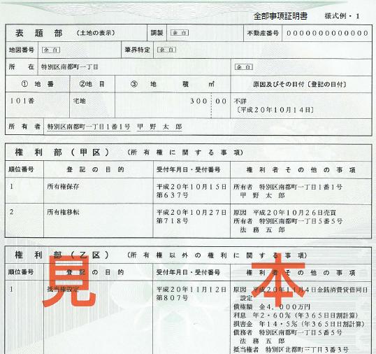 004登記事項証明書(土地)