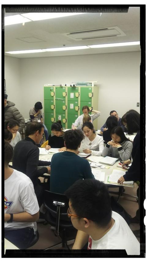【日本語チューター】水曜午後クラスの紹介