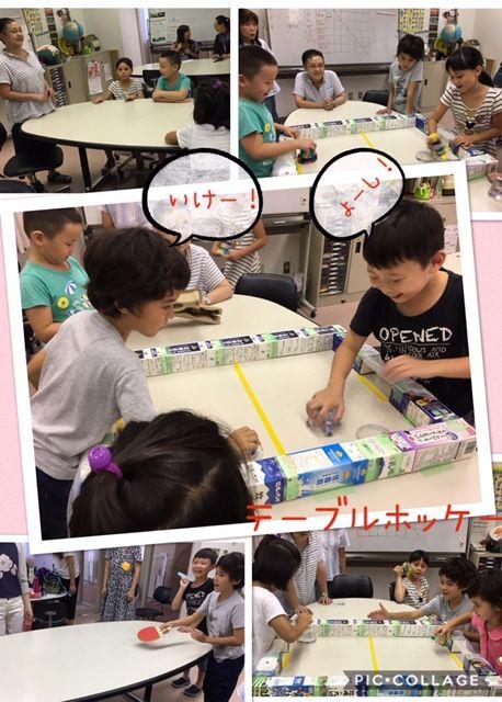【kokokids 】9/7(土)は「テーブルホッケー」!!