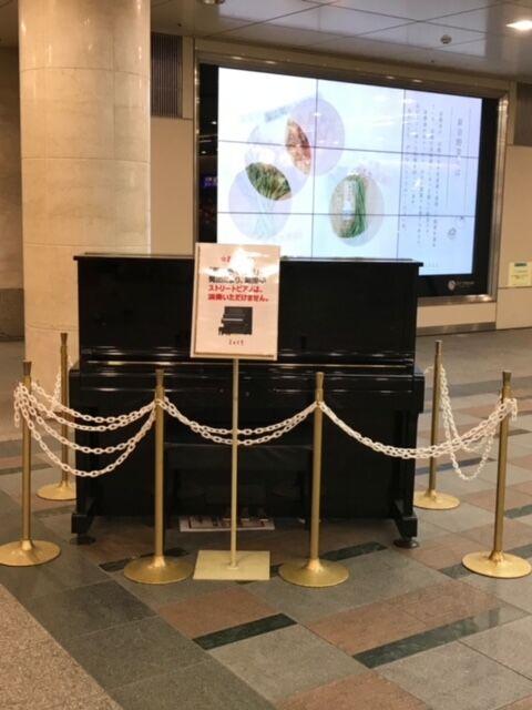 【日本語チューター】ストリートピアノ