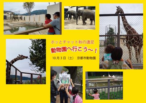 【ホッとチャット】10/3 秋の遠足 動物園へ行こう~!