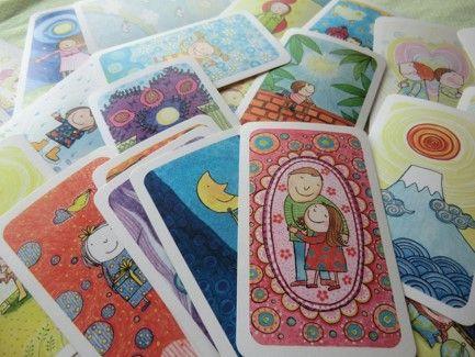 魔法の質問イラストカード