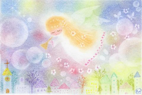 ゆるカワ天使画002
