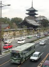東寺と市バス