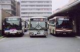 西日本JRバスは、一番左