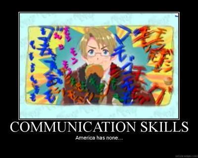 Communication Skills アメリカ