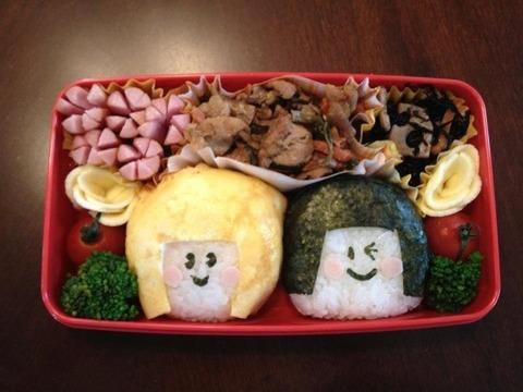 日本の嫁のお弁当