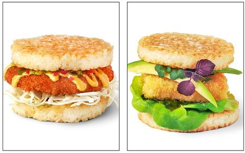 寿司バーガー