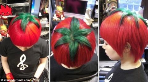 トマトヘアスタイル