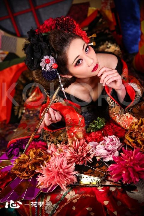 京都 花魁 体験 写真 カメラ 撮影 スタジオ 着物 ヘアメイク 化粧 旅行 観光