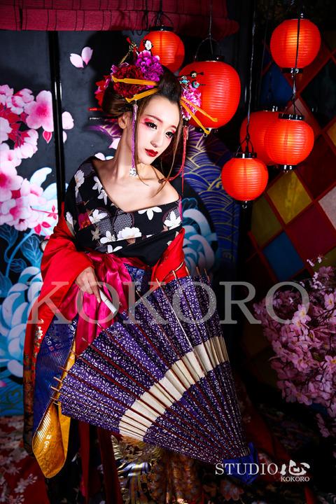 京都 舞妓体験/花魁体験 STUDIO心 嵐山店