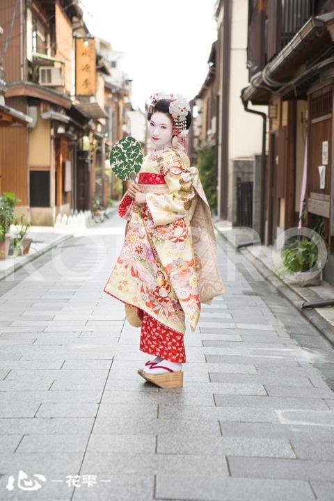 京都 本格舞妓体験 心-花雫-祇園店