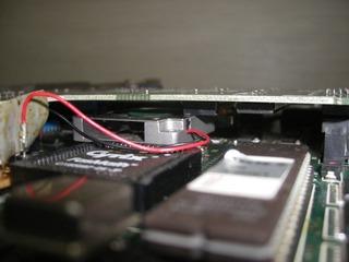 CPUのすきま