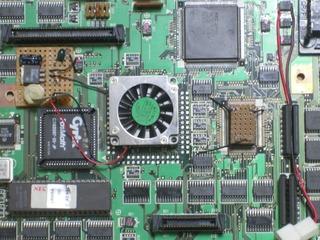 US怪CPU付近