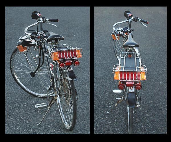 自転車にLEDは捗る(やり過ぎ ...