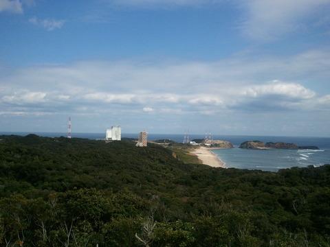 種子島ロケット基地