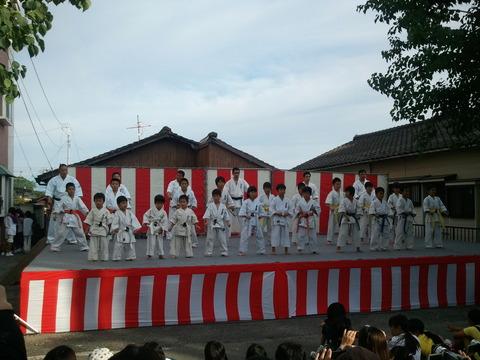 ふるさと祭り下松崎ステージ1