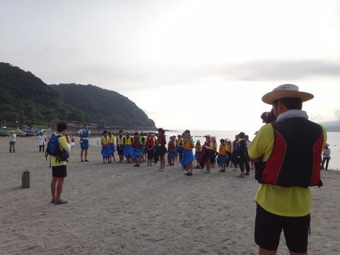24年錦江湾横断カヌー8