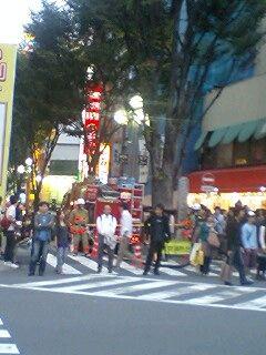 新宿東口オカダヤ火災16
