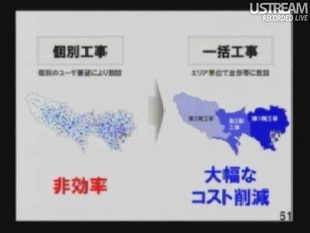 民主党「情報通信議員連盟」総会でのSB孫正義社長講演48