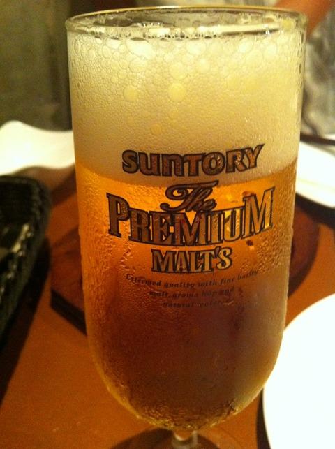 アゲマキ4 ビール