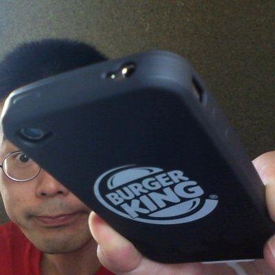 BKオリジナルiPhone4ケースを装着したところ 20120702_5