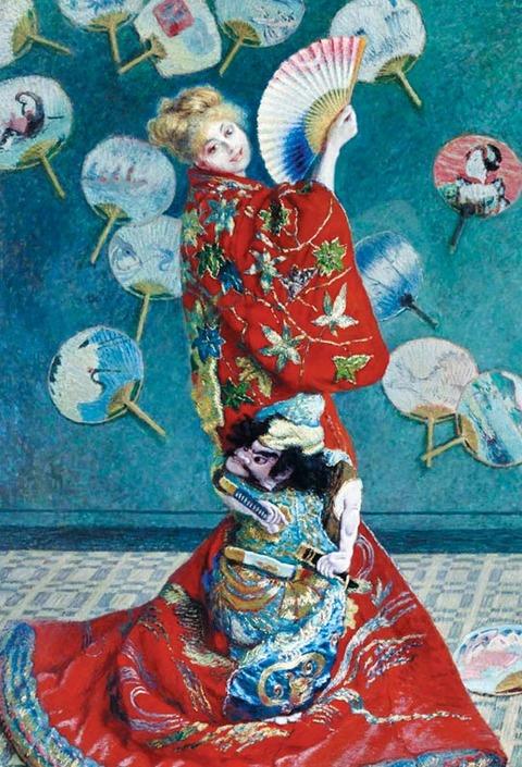 着物を着た妻を描いた画家モネ、今生きていたらKポップに魅了されアミボムを振っているだろう[12/04]